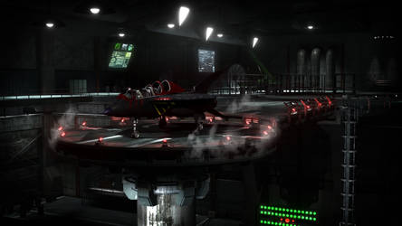 Swat Kats Hangar Render 1 by Xanatos4