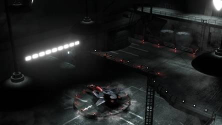 Swat Kats Hangar Render 3 by Xanatos4