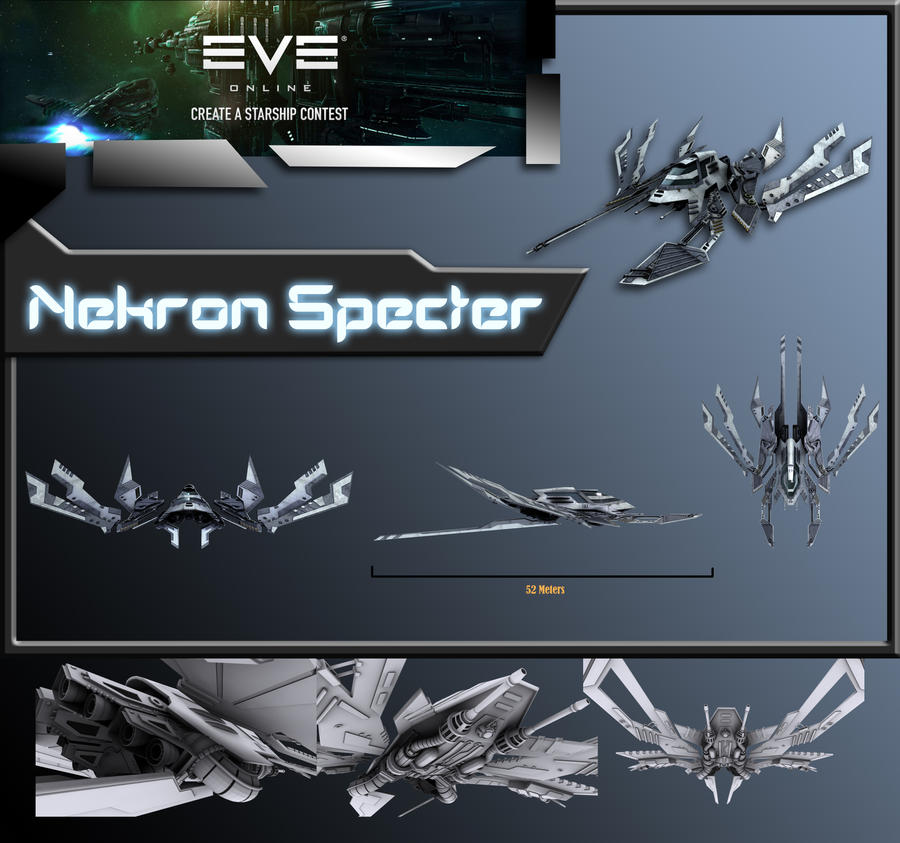 Eve Contest: Nekron Specter by Xanatos4
