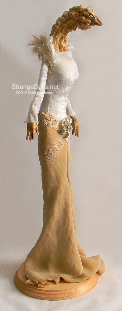 Gourd Doll: Lady Oriel by strangedolls
