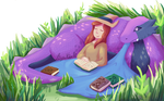 Tucked in With a Good Book by Liya-Xinli
