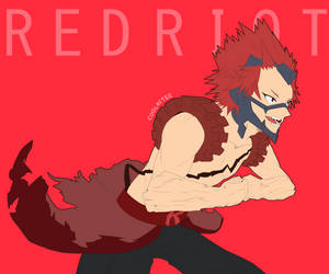 [BNHA] Red Riot, Into the Fray! by coolattee