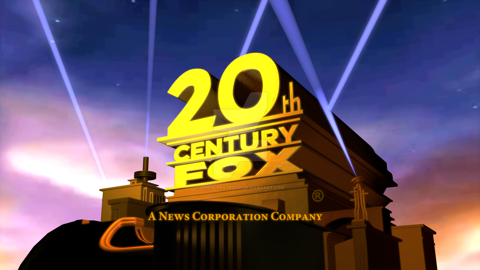 20th century fox 1994 logo remake by theultratroop on