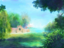Landscape Artwork 03 by Zaruzu