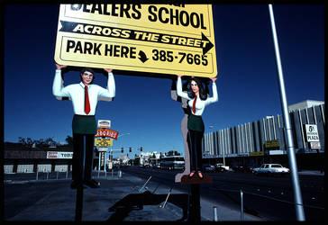 Dealers School, Las Vegas, 1985. PHOTO : LUNDAHL by AGENCE-KINO on DeviantArt