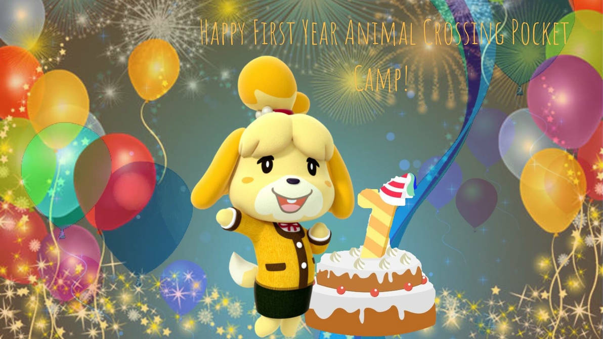 Happy First Year Pocket Camp by Creativa-Artly01