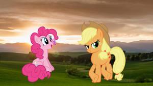 AJ and Pinkie