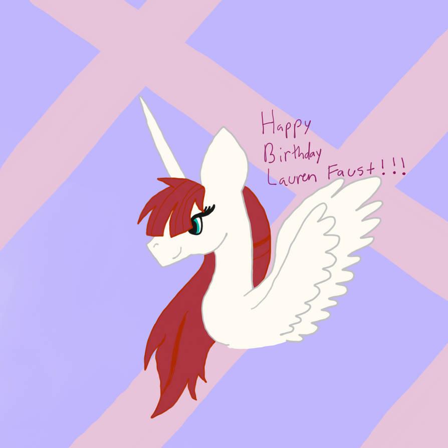 Happy birthday Lauren Faust!!!