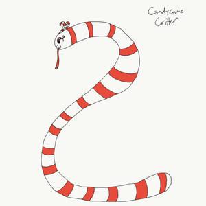 Sketchmas Day 2-Candycane Critter