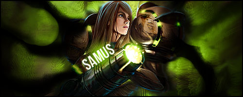 Samus aran FULL SMUDGE by Nes-Production