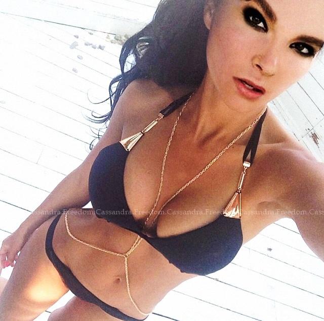 Teeny Bikini by CassandraFreedom