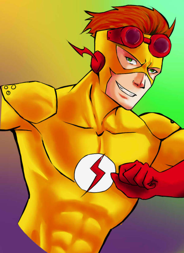 Kid flash by superiorprimate