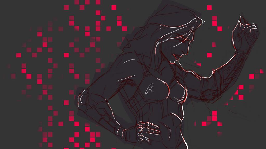 Morgana Sketch2 by superiorprimate