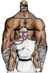 Sagat, Ryu
