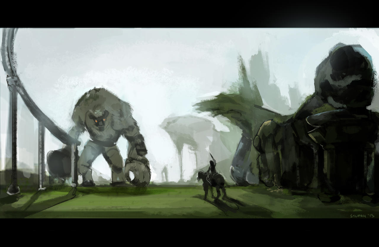 Shadow of the Colossus by stupah