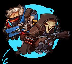 Reaper76 Sticker