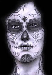 La Nina Esqueleto by DANCE-WITH-ME-PUNK