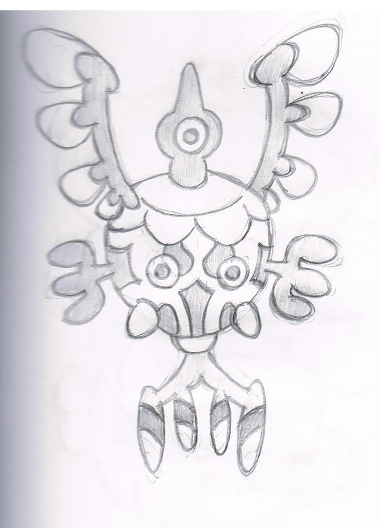 Marauma's Sigilyph by megafanXD