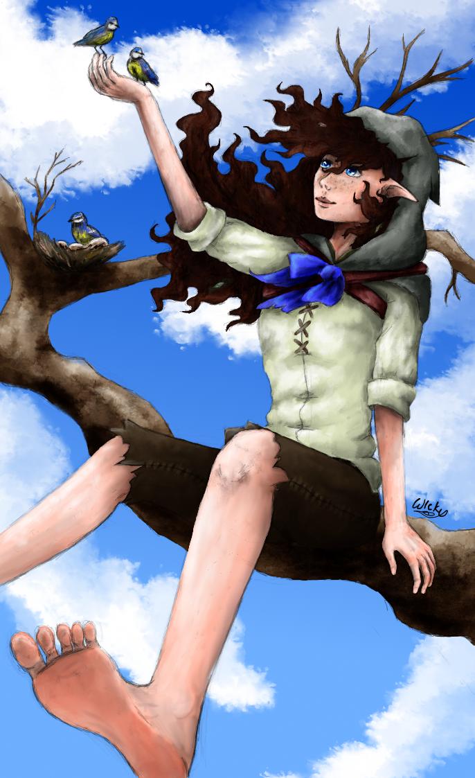 Blue Bird by wlcky