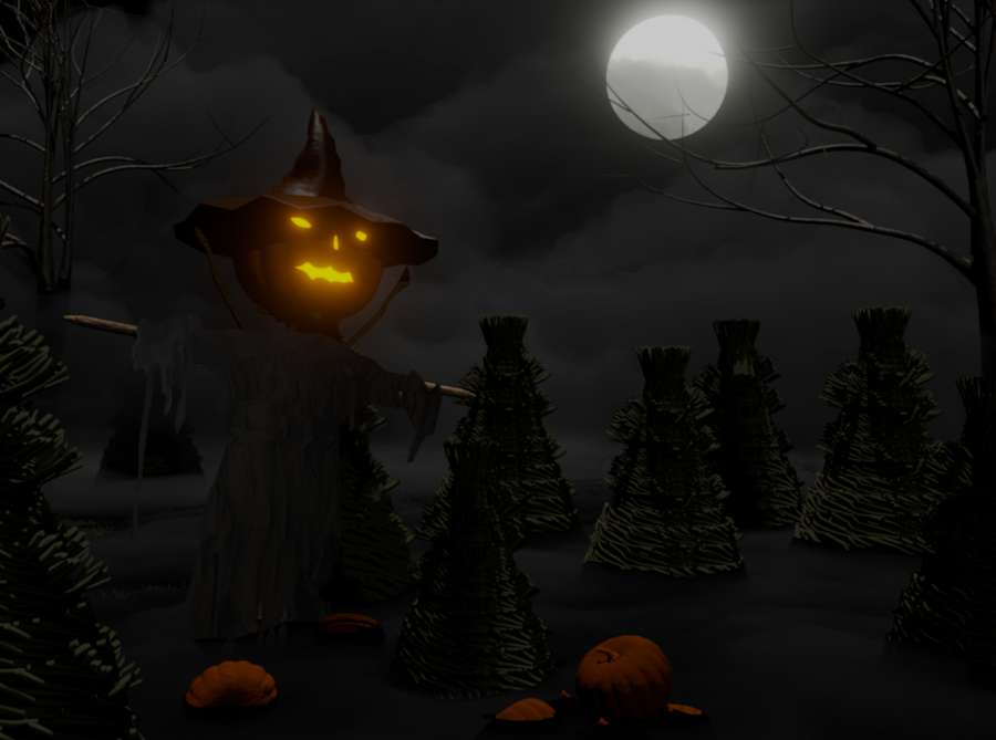 Scarecrow by fergoblender