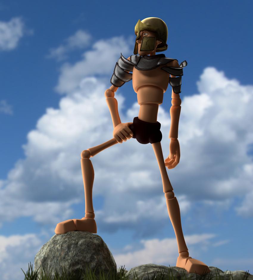 Warrior by fergoblender