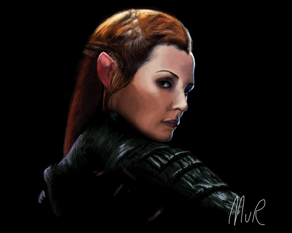 Tauriel by Manonvr
