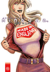'Made in England' artbook Cover by Kromdor
