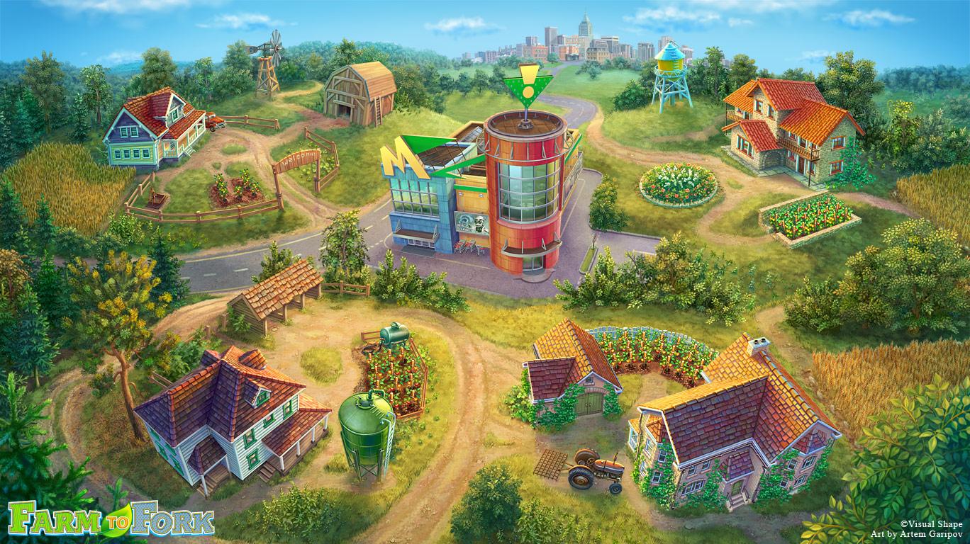 39 farm to fork 39 game levels map by artem garipov on deviantart. Black Bedroom Furniture Sets. Home Design Ideas