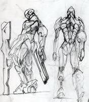 Mecha Concept 1 by whiteseer