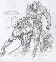 mecha concept 02 by whiteseer