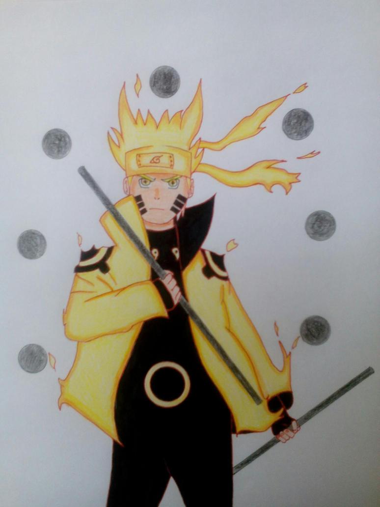 naruto rikudou sennin by animesouldrawing on deviantart