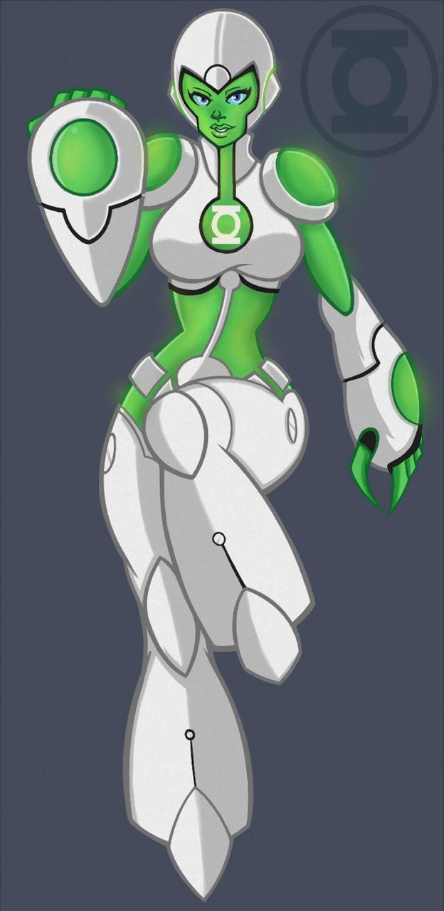 Green Lantern Aya by DigitalRum