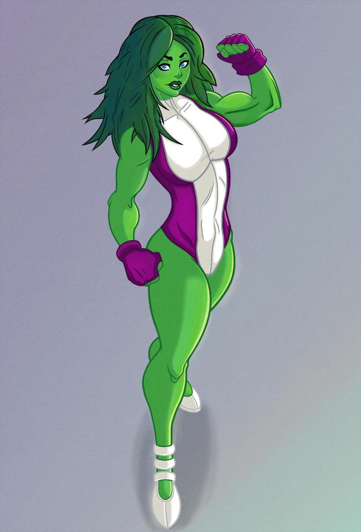 She-Hulk by DigitalRum