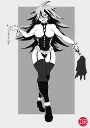 Boku no Hero Academia Midnight by DigitalRum