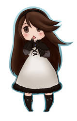 Bravely stickers: Agnes by Harusokuze