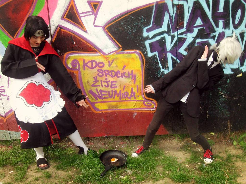 Uchiha Itachi and Hatake Kakashi ! by Hannah-ChanCzech