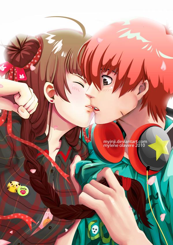 tease me kiss ya by mikurei26