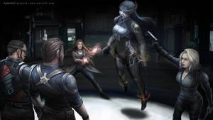 InfinityWarFanart Proxima interrogation