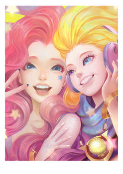Seraphine and zoe