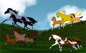 [IC] Mares and Foals