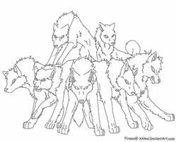 Request - Wolf Pack 2 by Firewolf-Anime on DeviantArt