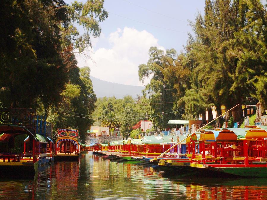 Xochimilco by YellowTorterra