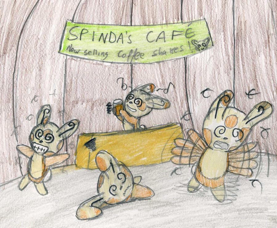 Spinda S Cafe Secret Room