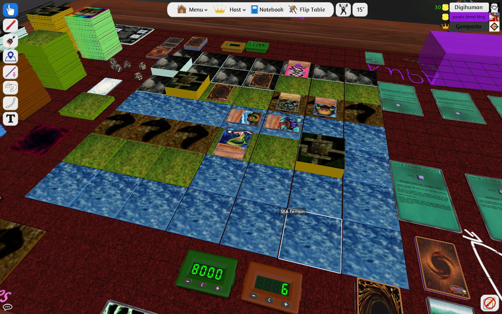 yu gi oh duelist of the roses tts game progress by lugia61617 on