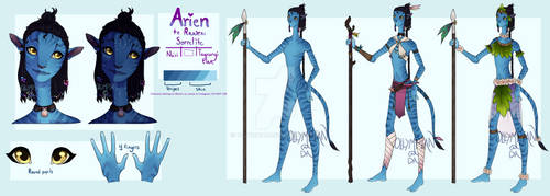 Arien reference by ollympian