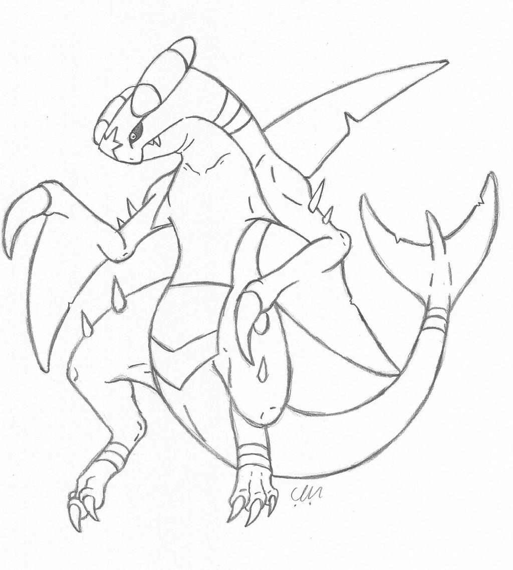 coloring pages mega evolved pokemon