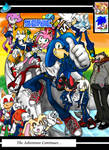 Sonic HS Issue 2 Cover