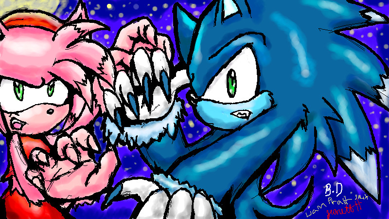 Sonic Unleashed Werehog And Amy Deviantart: more like what the