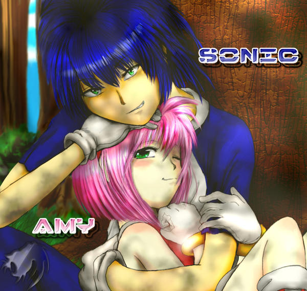 Imagen Sonic y Amy