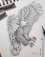 Eagle by MsLydix